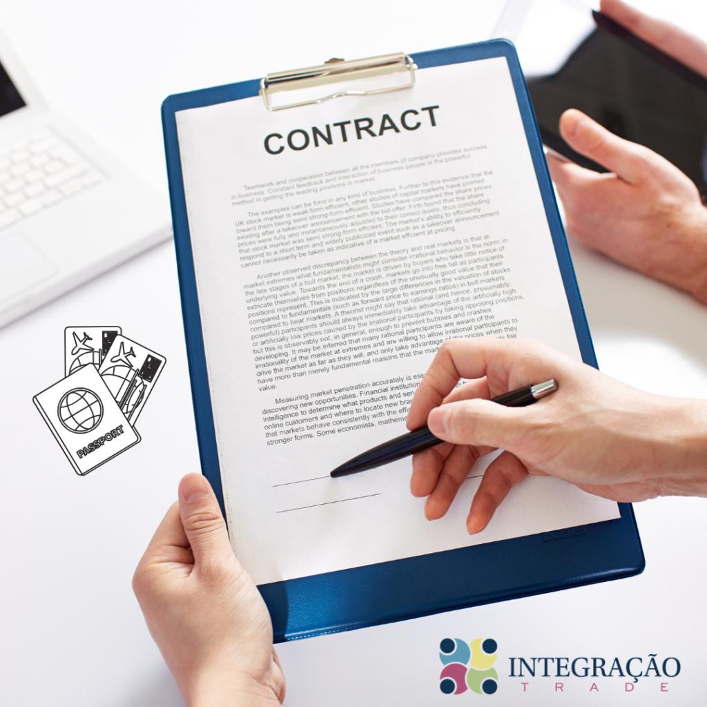 A importância da assinatura de contrato com o cliente