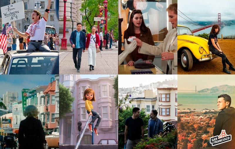 Produções cinematográficas e a cidade de San Francisco