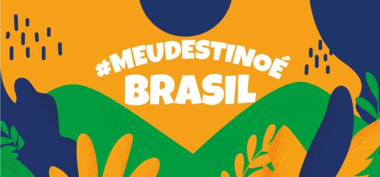 Meu destino é o Brasil
